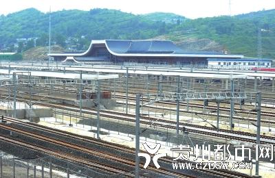贵阳东站:高铁枢纽站不以客运为主图片