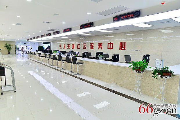 未来城社区服务中心大厅图片
