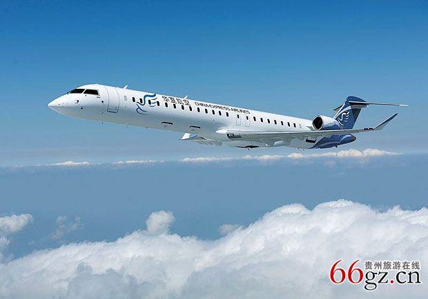 贵阳--宜宾--太原等航线,使贵阳的航空网络更为丰富.