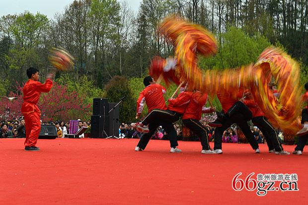 贵州安顺(龙宫)油菜花旅游节开幕