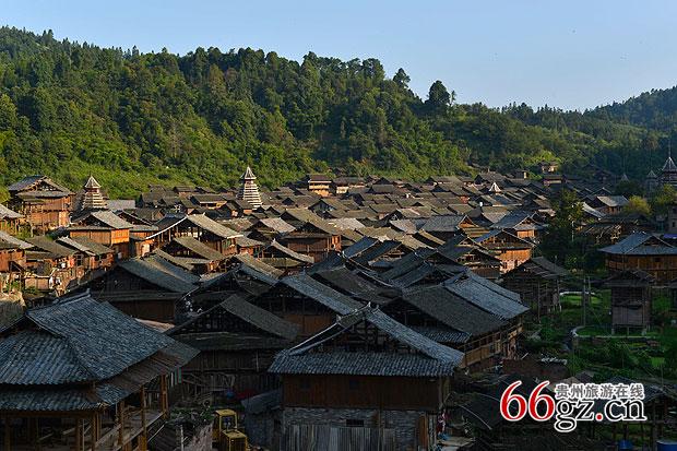 贵州竹木结构建筑