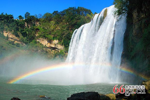 黄果树大瀑布(图片提供/黄果树风景名胜区)