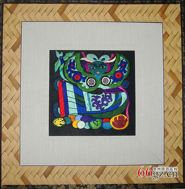 台江苗族刺绣图片