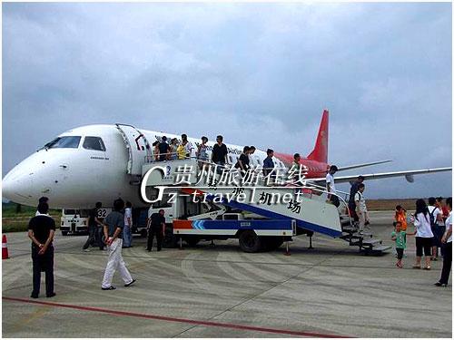 荔波至贵阳每天往返航班正式开通