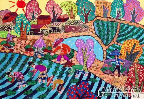贵州省现代民间绘画展暨画乡优秀作品展1图片