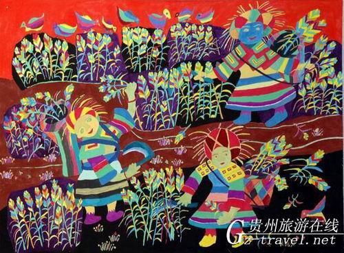 贵州省现代民间绘画展暨画乡优秀作品展3