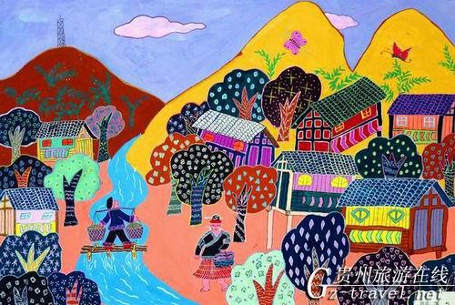 贵州省现代民间绘画展暨画乡优秀作品展4图片