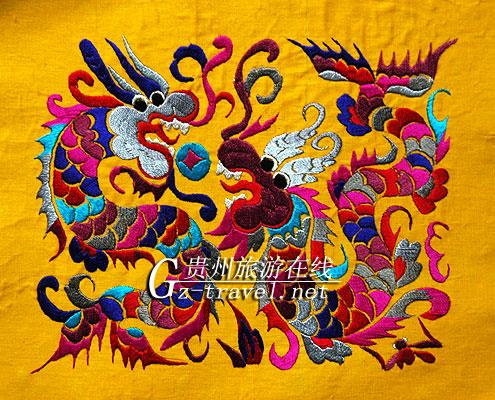 苗族刺绣(装饰)2