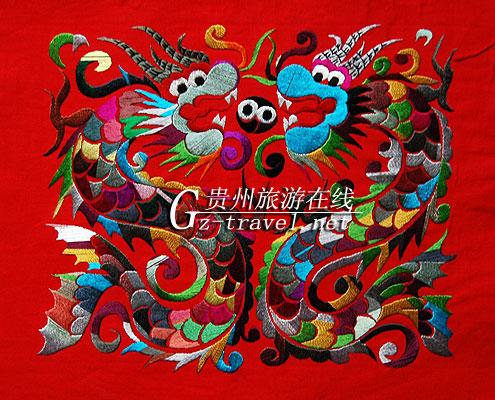 苗族刺绣(装饰)2-贵州旅游在线